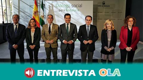UGT Andalucía asegura que la 'Mesa de Diálogo Social' que se ha reunido este miércoles por segunda vez ha sido una oportunidad perdida