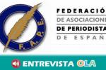 La Federación de Asociaciones de Periodistas de España, FAPE, advierte de que la libertad de prensa está en riesgo en el país