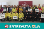 El Ayuntamiento de Casares homenajea a todas las personas que intervinieron en el incendio del pasado octubre
