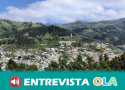 Los índices de pobreza en Ecuador se concentran en las zonas rurales, donde los procesos de minería también perjudican el entorno natural