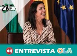 «El espíritu del 28F debe permanecer vigente para aunar esfuerzos entre las administraciones y fuerzas con representación para llegar a acuerdos en beneficio de la ciudadanía», Marta Bosquet, presidenta del Parlamento de Andalucía