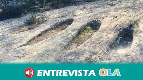 Las tumbas antropomorfas de Vejer suponen un tesoro arqueológico en la sierra gaditana cuyo origen aún no es del todo conocido