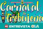 El concurso de carnavales de Trebujena es una tradición con himno propio, concurso de agrupaciones, baile de disfraces, cabalgata y la quema de la bruja Piti