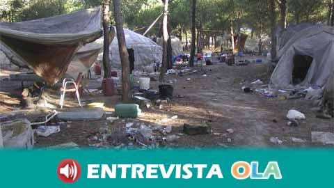 Andalucía Acoge pide el realojo de personas que viven en asentamientos de infraviviendas ante la extrema situación de vulnerabilidad por la crisis sanitaria