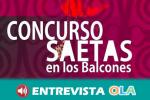 El municipio cordobés de Castro del Río crea el concurso 'Saetas en los balcones' para apoyar a quienes están realizando una labor esencial en estos días de estado de alarma
